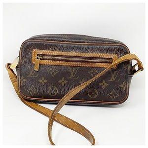 Authentic Louis Vuitton Monogram Shoulder Bag